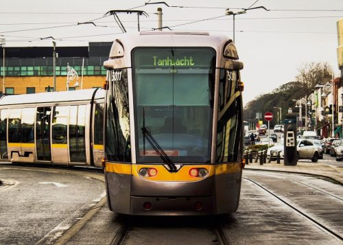 ダブリンの路面電車LUAS