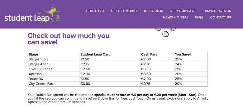 Leap-Card-bus-fare-discount