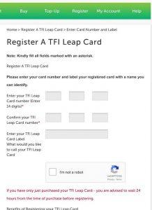 リープカード登録