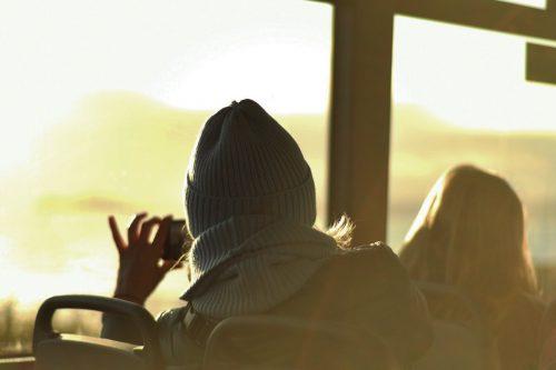 ダブリンバスで