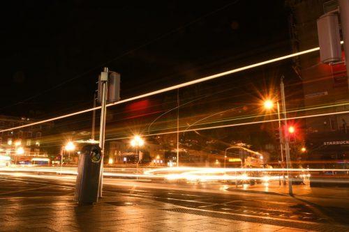 夜のダブリン